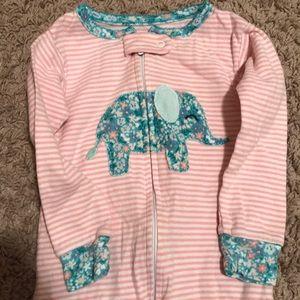 Elephant Footie Pajamas